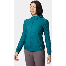 Mountain Hardwear Kor Preshell Hoody Jacket Women Dive